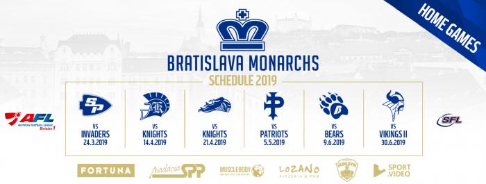 Sezóna 2019 bude pre Monarchs náročnou výzvou